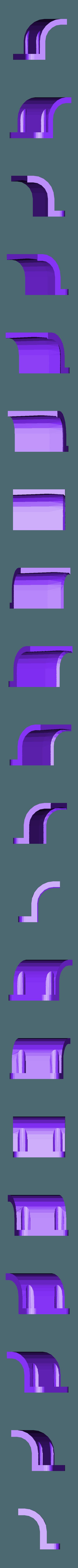 xtion_clip_right.stl Download free STL file Xtended Asus Xtion mount for TurtleBot • 3D printer model, Obenottr3D