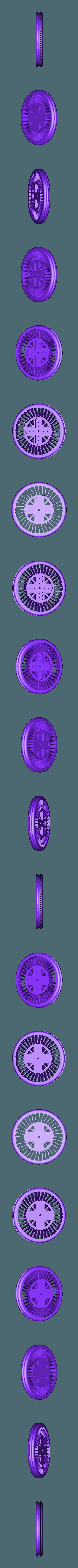 Rueda1.STL Download free STL file Rueda Para Servo • 3D printer object, Obenottr3D