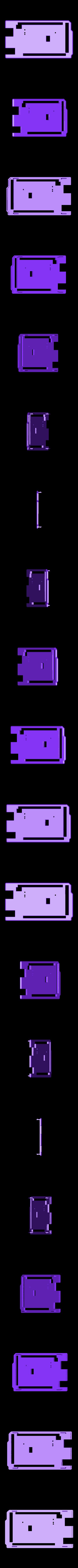 ArduinoMega_Case_Top.stl Télécharger fichier STL gratuit Arduino Mega étui confortable • Plan pour imprimante 3D, Obenottr3D