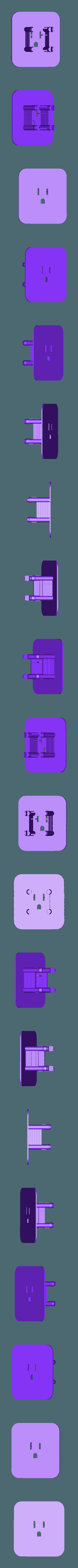 ACadaptWplateNF.stl Download free STL file AC Adapter Organizer • 3D printer design, Obenottr3D