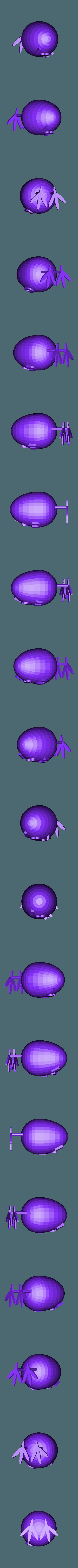 egg.stl Download free STL file egg love • 3D printing object, brayanrosas94