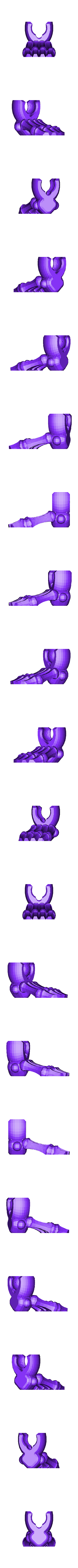 pie.stl Télécharger fichier STL gratuit ossature • Design imprimable en 3D, brayanrosas94