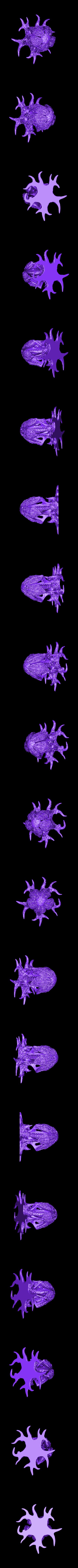 """WastelandPlant01_HIGH.stl Télécharger fichier STL gratuit Installation de table : """"Arbre des Spores du désert"""" (Végétation exotique 12) • Plan pour impression 3D, GrimGreeble"""