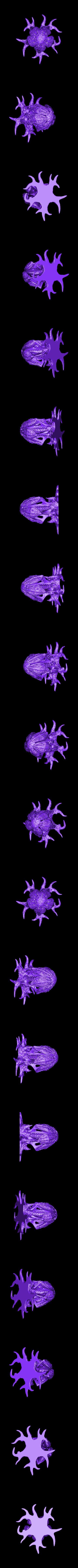 """WastelandPlant01_MEDIUM.stl Télécharger fichier STL gratuit Installation de table : """"Arbre des Spores du désert"""" (Végétation exotique 12) • Plan pour impression 3D, GrimGreeble"""