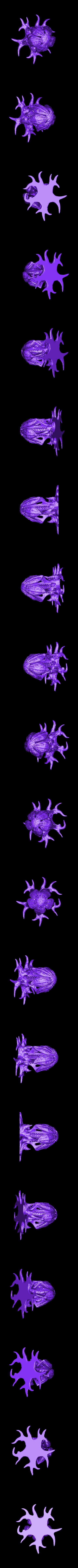 """WastelandPlant01_LOW.stl Télécharger fichier STL gratuit Installation de table : """"Arbre des Spores du désert"""" (Végétation exotique 12) • Plan pour impression 3D, GrimGreeble"""