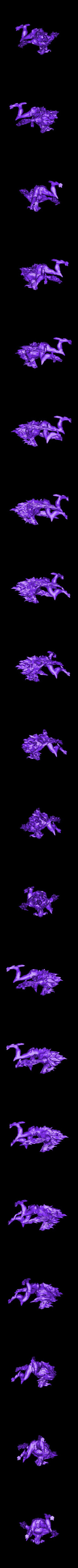FireElemental.stl Download free STL file Gloomhaven Flame Demon • 3D printable design, Gronis