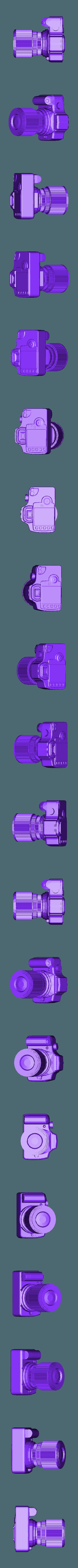 Canon350DbasicbyALX_fixed.stl Download free STL file Canon EOS 350D model • 3D printer template, Aralala