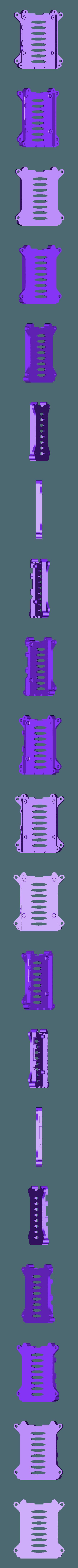 rpi3-bottom_netfabb.stl Télécharger fichier STL gratuit Coffret Framboise Pi 3 (B/B+), Pi 2 B et Pi 1 B+ avec supports VESA et plus. • Objet imprimable en 3D, Aralala