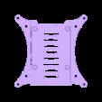 rpi2-bottom_100mm-vesa_netfabb.stl Télécharger fichier STL gratuit Coffret Framboise Pi 3 (B/B+), Pi 2 B et Pi 1 B+ avec supports VESA et plus. • Objet imprimable en 3D, Aralala