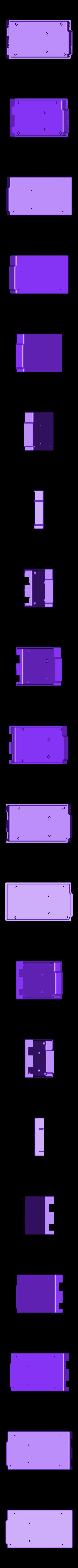 arduino_mega_bottom.stl Download free STL file Arduino Mega 2560 Snug Case • 3D printer design, Aralala
