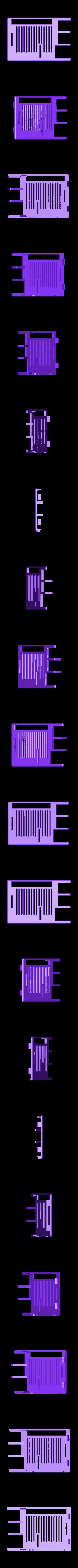 Pi_Snug_Case_Top_Slots.stl Download free STL file Raspberry Pi Snug Case • 3D printable design, Aralala