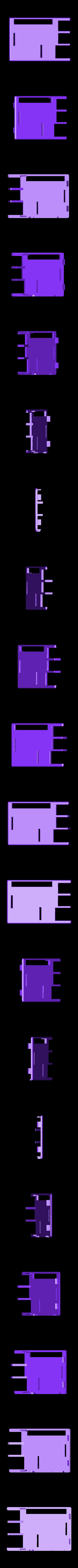 Pi_Snug_Case_Top.stl Download free STL file Raspberry Pi Snug Case • 3D printable design, Aralala