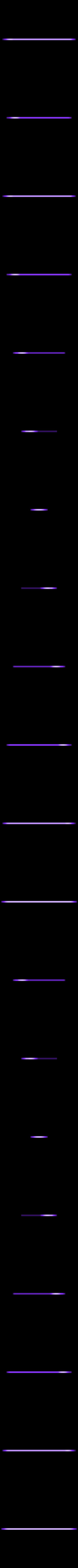 Screen_menu_plate.stl Download free STL file Portable Raspberry Pi game console • 3D printing object, Lassaalk