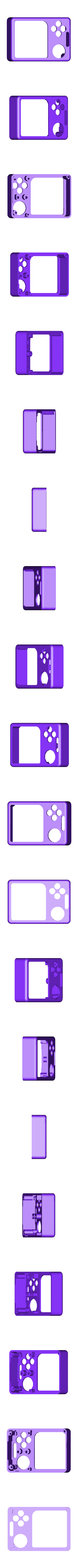 Gameboy_Nano_front.stl Download free STL file Pi Zero - Gameboy NANO • 3D printing model, Lassaalk