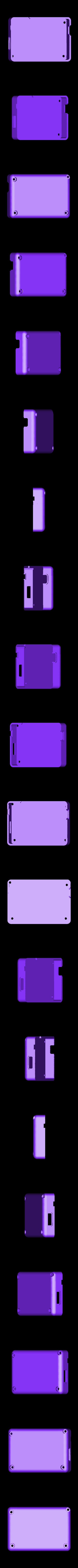 Gameboy_Nano_back.stl Télécharger fichier STL gratuit Pi Zero - Gameboy NANO • Design imprimable en 3D, Lassaalk