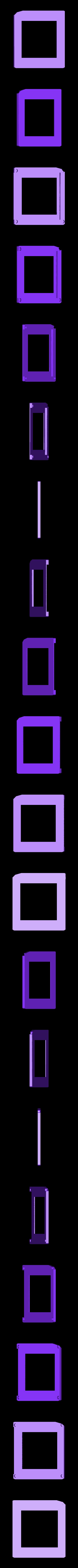 Gameboy_Nano_face_plate2.stl Télécharger fichier STL gratuit Pi Zero - Gameboy NANO • Design imprimable en 3D, Lassaalk
