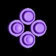 Gameboy_Nano_Action_buttons.stl Télécharger fichier STL gratuit Pi Zero - Gameboy NANO • Design imprimable en 3D, Lassaalk