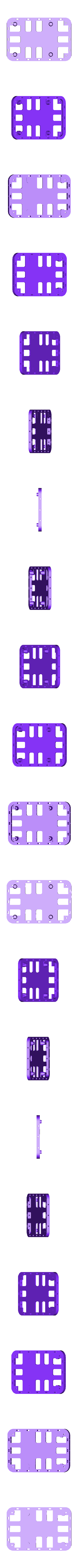 raspberrry_bPlus_2b.stl Download free STL file Modular Support (Case) for Arduino and Raspberry Pi - CustoBlocks • 3D print template, Lassaalk