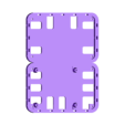 raspberrry_bPlus_2b_breadboard.stl Download free STL file Modular Support (Case) for Arduino and Raspberry Pi - CustoBlocks • 3D print template, Lassaalk