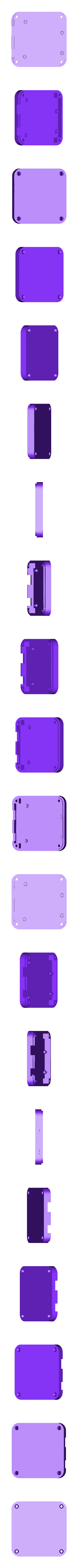 uno_case_base.stl Download free STL file 3D Printed Case for Arduino Uno, Leonardo. • 3D printing model, Lassaalk