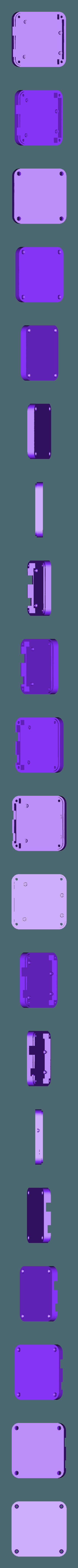 leonardo_case_base.stl Download free STL file 3D Printed Case for Arduino Uno, Leonardo. • 3D printing model, Lassaalk