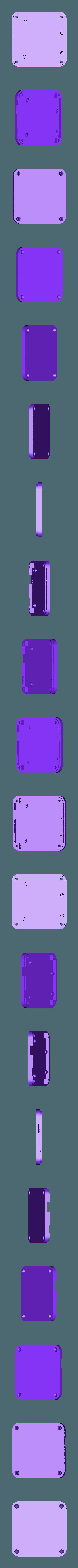 leonardo_case_slim_base.stl Download free STL file 3D Printed Case for Arduino Uno, Leonardo. • 3D printing model, Lassaalk