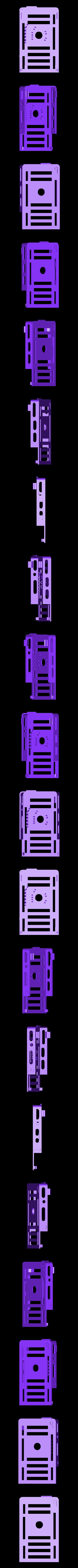 bbBasePLXPIRTop.stl Télécharger fichier STL gratuit badBrick - bbBasePLXPIR, capteur Parallax PIR (Rev B) + cas de base Arduino UNO R3. • Plan imprimable en 3D, Lassaalk