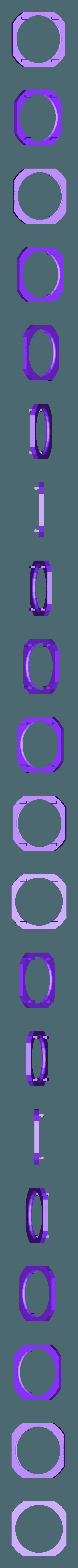 bbNLLEDCoverOR.stl Télécharger fichier STL gratuit badBrick - Lumière nocturne à détection de mouvement, kit complet de coque 3D. • Plan à imprimer en 3D, Lassaalk