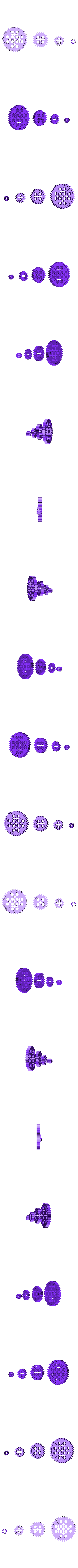 bb408GearSet.stl Download free STL file Common Gear set • 3D printer object, Lassaalk
