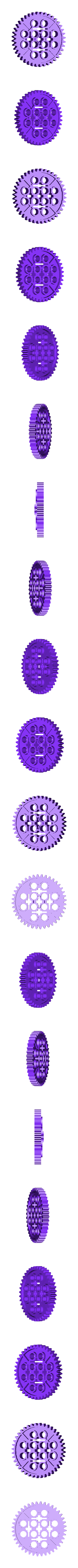 bbStock40TGear.stl Download free STL file Common Gear set • 3D printer object, Lassaalk