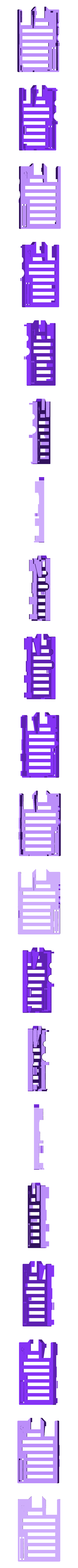 bbPi_CaseTop.stl Download free STL file badBrick - Case for Raspberry Pi. • 3D printable model, Lassaalk