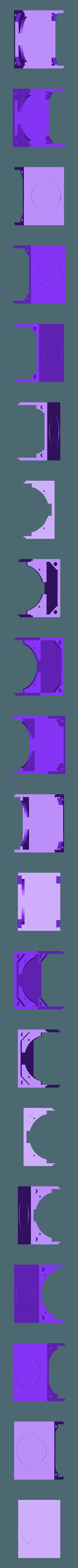 """bbVFR2iSB_bot.stl Download free STL file badBrick - Speaker Case for Vifa TC6FD00-04 2"""" Woofer • 3D printable template, Lassaalk"""