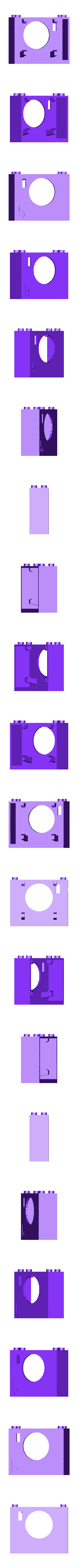 bb624PIRPLX.stl Télécharger fichier STL gratuit badBrick bb624PIRPLX Parallax PIR Sensor Brick Mount. • Design à imprimer en 3D, Lassaalk