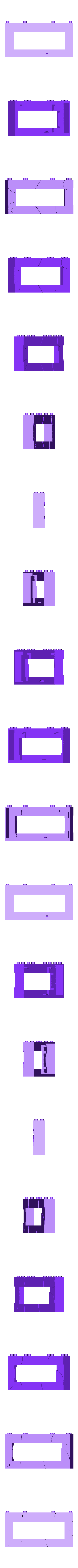 bb5212LCD-16x2.stl Télécharger fichier STL gratuit Monture en brique pour écran LCD 16x2. • Objet pour imprimante 3D, Lassaalk