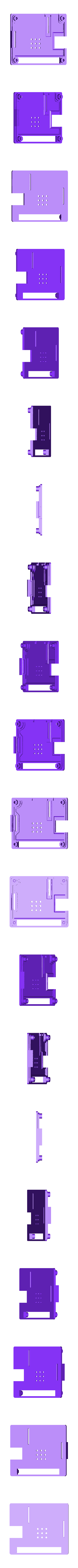 A_plus_compact_top.stl Download free STL file A very compact Raspberry Pi A+ case • 3D printable template, Lassaalk