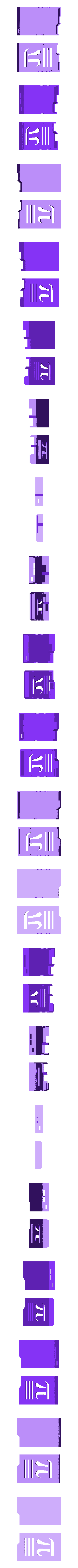 raspicase_top_bottom.stl Download free STL file Raspberry Pi Case - Pi Symbol • Object to 3D print, Lassaalk