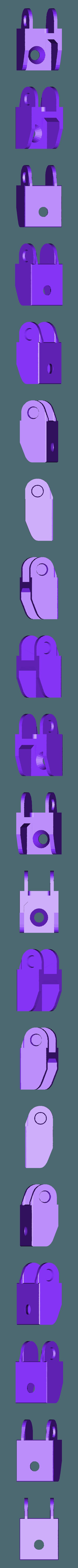 CableChainEndBflat.stl Télécharger fichier STL gratuit Chaîne de câble pour rail de 20mm • Design à imprimer en 3D, Lassaalk