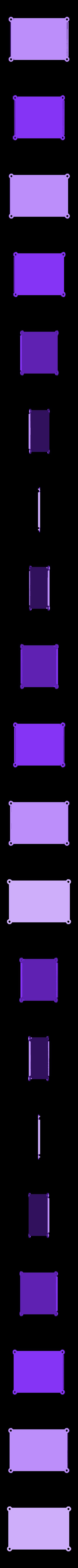 base2.stl Download free SCAD file Modular raspberry pi case • 3D print object, Lassaalk