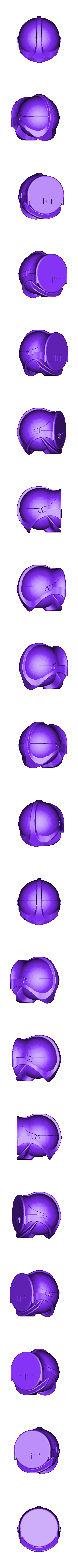 Casque SPF1 bloc.stl Download STL file Firefighter helmet SPF1 • 3D print model, JJB