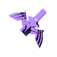 MS-Wings-top.stl Download free STL file LED Zelda Master • 3D printable template, Adafruit
