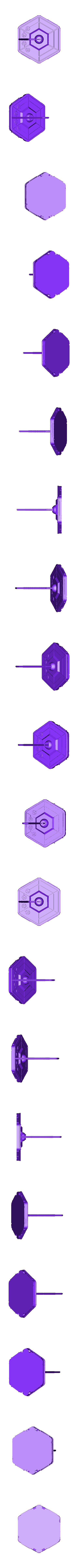 kataan_2_with_hole.stl Download free STL file Kataan Probe • 3D printable design, poblocki1982