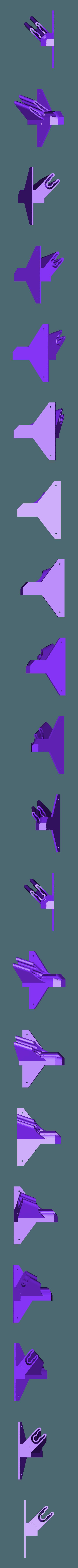 OculusRiftSensorHolder.stl Télécharger fichier STL gratuit Oculus Rift sensor holder • Plan pour impression 3D, HagridleVrai