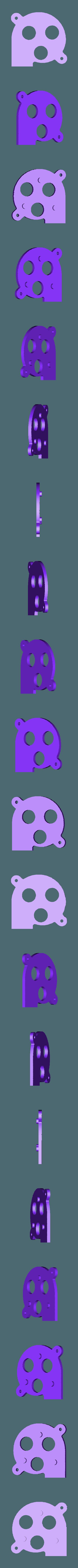 support-fan.STL Télécharger fichier STL gratuit Support de câble et autres pour Prusa i4 • Objet pour impression 3D, perinski