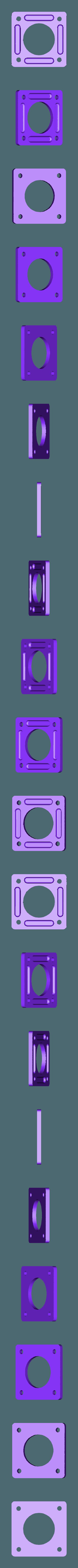 Nema_17_Stepper_Damper_v1.stl Télécharger fichier STL gratuit Ender & CR-10 X Axis Cover et Nema 17 Stepper Damper Spacer Nema 17 • Plan pour impression 3D, FedorSosnin
