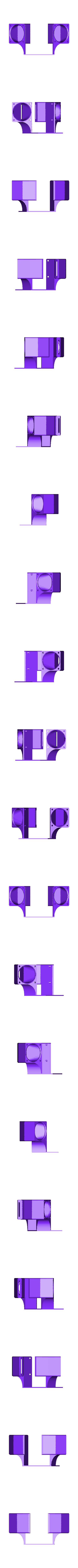 Parts_Cooling_Duct_v1.stl Download free STL file Dual 30mm Parts Cooling Duct and 40mm Heatsink Cooling Duct for E3D or v6 Clone Direct Feed or Bowden • Object to 3D print, FedorSosnin
