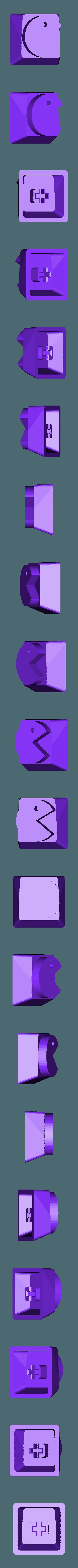 Pac-Man_-_Mr.Pac-Man.stl Télécharger fichier STL gratuit Pac-Man Cherry MX Keycaps • Objet à imprimer en 3D, FedorSosnin