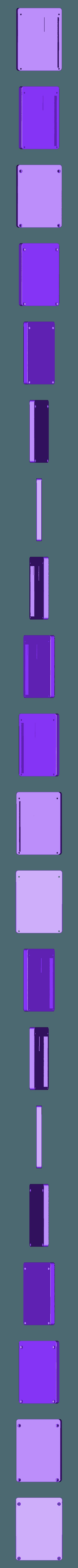 SiCK-PAD-bottom.stl Télécharger fichier STL gratuit Clavier mécanique - SiCK-PAD • Objet imprimable en 3D, FedorSosnin