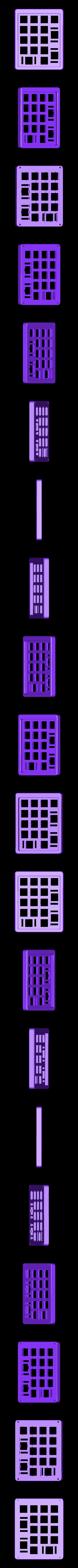 SiCK-PAD-top.stl Télécharger fichier STL gratuit Clavier mécanique - SiCK-PAD • Objet imprimable en 3D, FedorSosnin