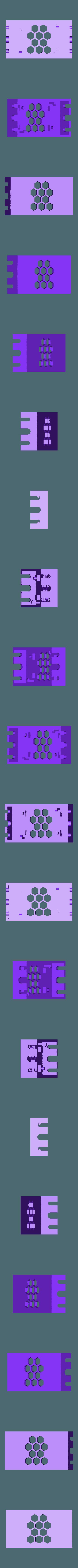 Base-Clipless-v2.stl Download free STL file LM2596 and LM2596S Buck converter tool-less snap-fit enclosure - Ender, CR-10, 2020 • 3D printer template, FedorSosnin