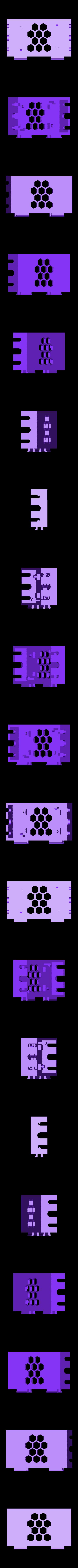 Base-v2.stl Download free STL file LM2596 and LM2596S Buck converter tool-less snap-fit enclosure - Ender, CR-10, 2020 • 3D printer template, FedorSosnin